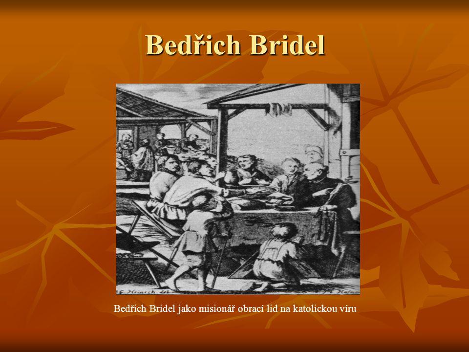 B.Bridel:sbírka Co Bůh.Člověk.
