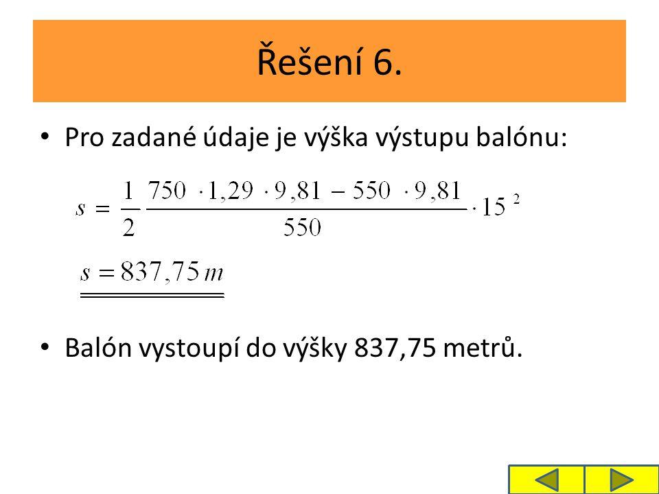 Řešení 7.