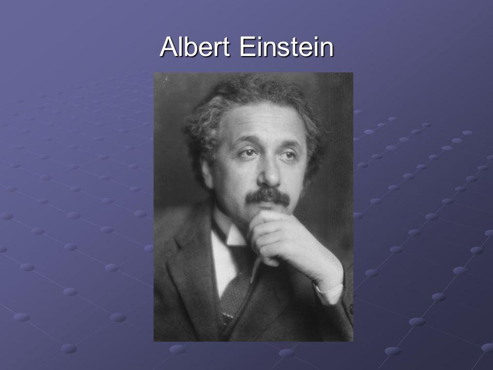 Albert Einstein se narodil 14.března 1879 v bavorském městečku Ulm.