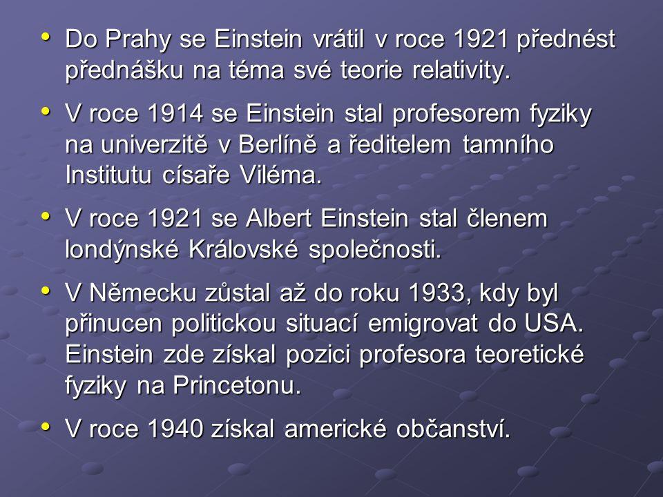 Již v počátcích své vědecké práce Albert Einstein rozpoznal nedostatky newtonovské fyziky.