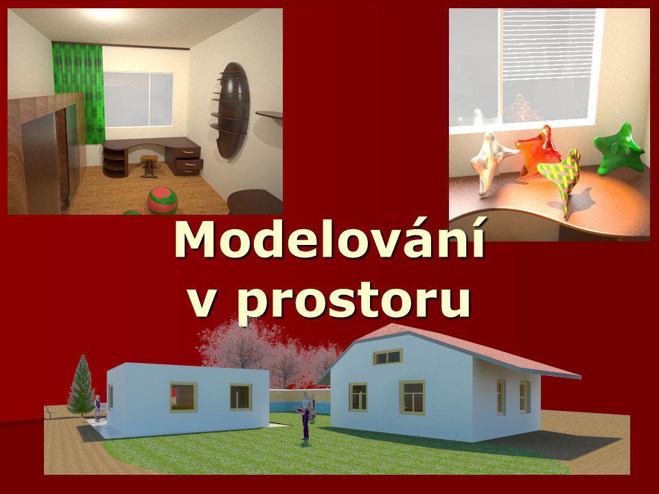 Základy počítačové grafiky, Helena Novotná, podzim 2013 2 Typy prostorových modelů  drátěné (hranové) modely  hraniční (stěnové) modely –sítě (matem.