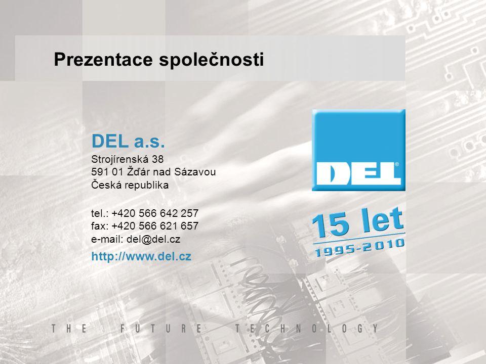 Historie společnosti  Do roku 1995 Divize Elektro ŽĎAS, a.s.