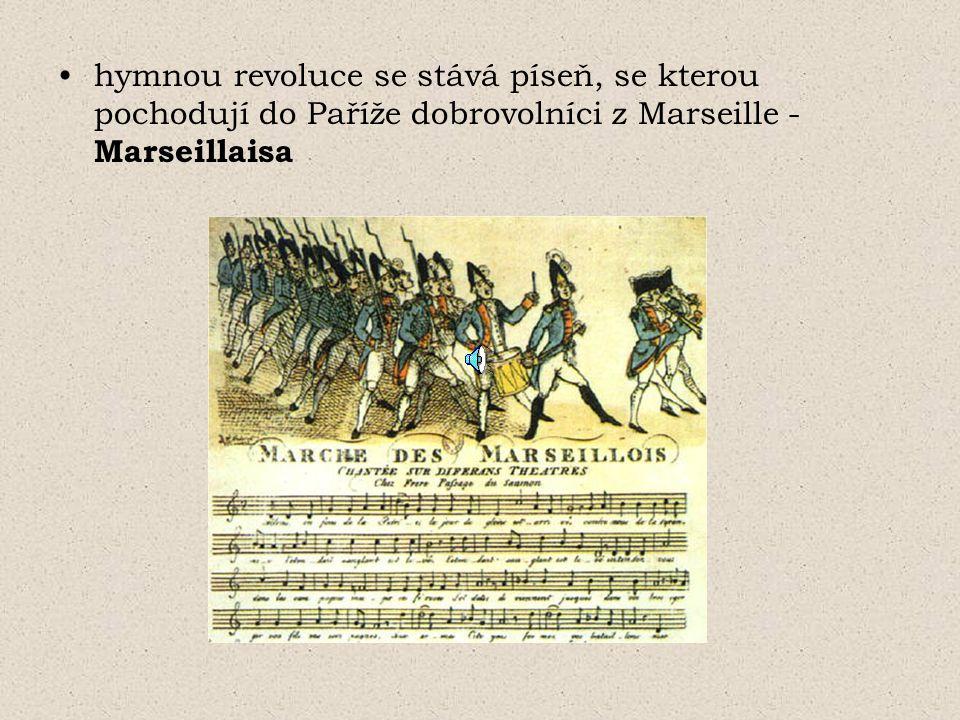 zavedeno všeobecné volební právo (muži nad 21 let) od 1790 vznik politických klubů (předchůdci dnešních politických stran) - rozmanitost názorů, nejednotnost v otázce dalšího vývoje revoluce, postupně získávají vliv jakobíni - největší vliv, (klášter sv.