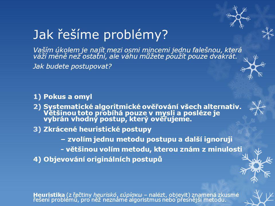 Jak řešit problém.