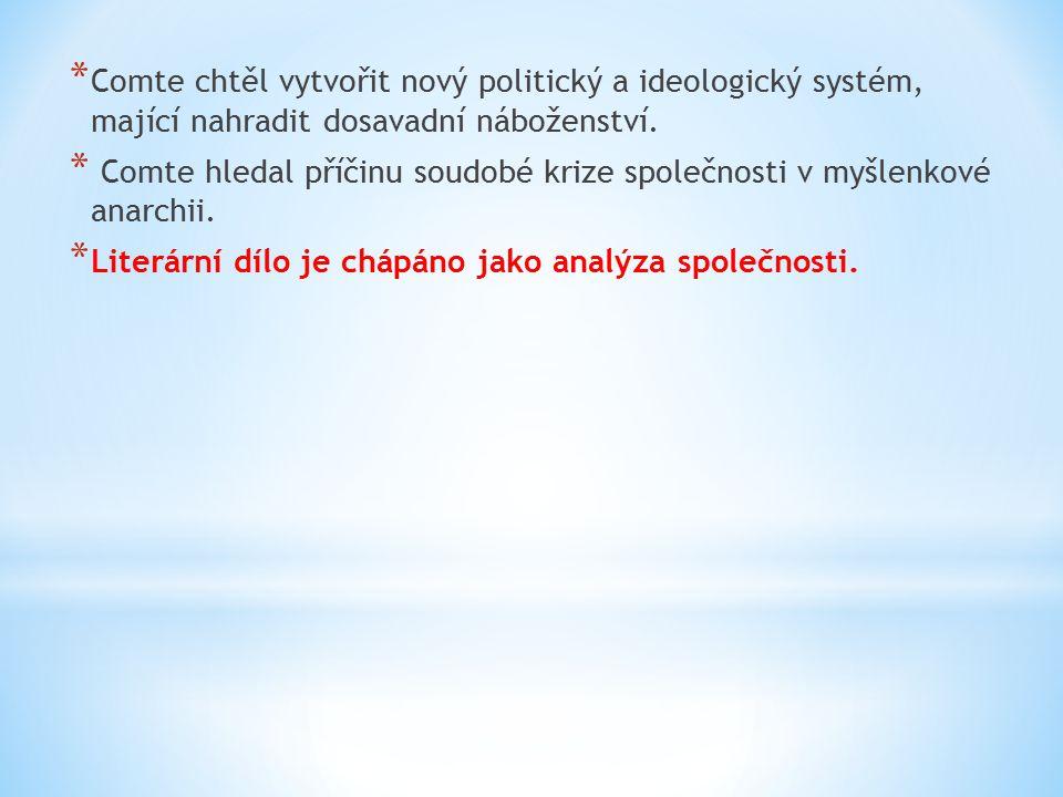 * Znaky českého kritického realismu: * Díla historická a s venkovskou tematikou * Převaha er-formy * Analýza společnosti * Spisovný jazyk i nářečí * Vrchol v 80.
