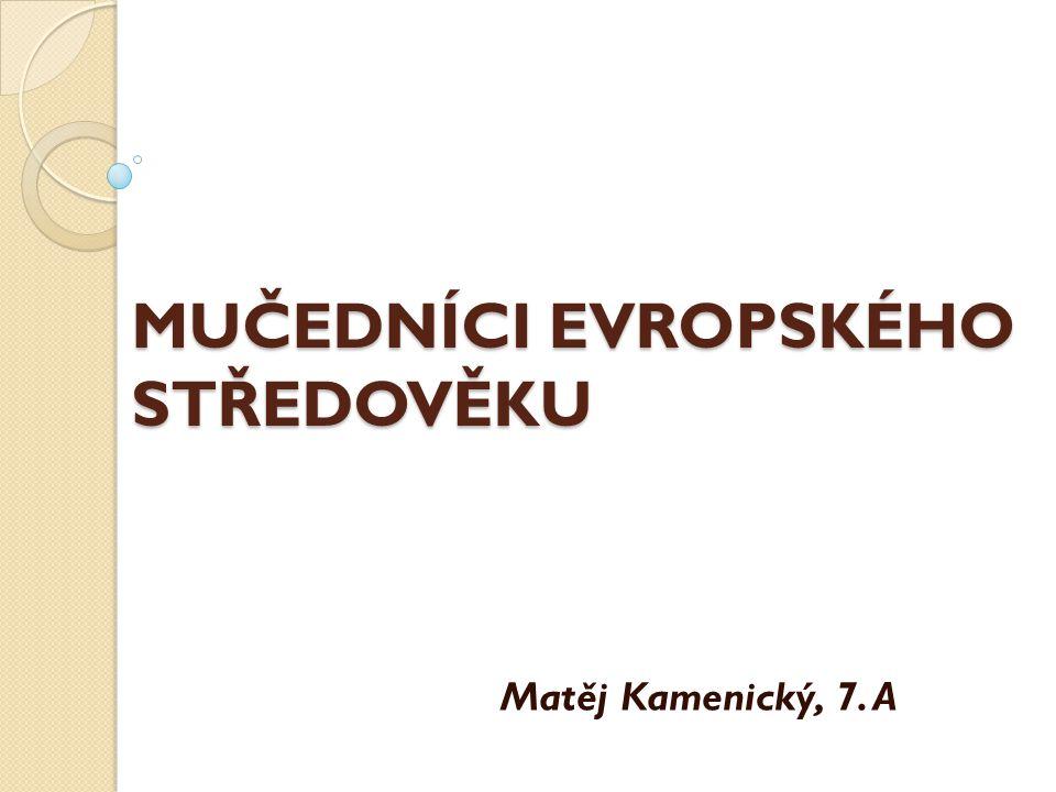 Jan Nepomucký  Kněz, generální vikář, mučedník, český národní světec.
