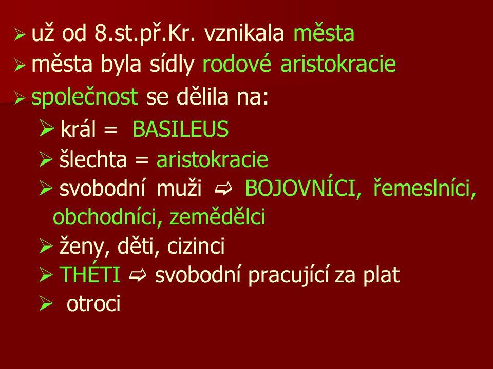HELLÉNOVÉ a jejich náboženství   Řecké kmeny začaly užívat společné jméno  HELLÉNOVÉ   polyteistické náboženství   bohové žijí na Olympu, vládne jim Zeus a jeho žena Héra   bohové byli nesmrtelní, protože pili nektar a jedli ambrózii