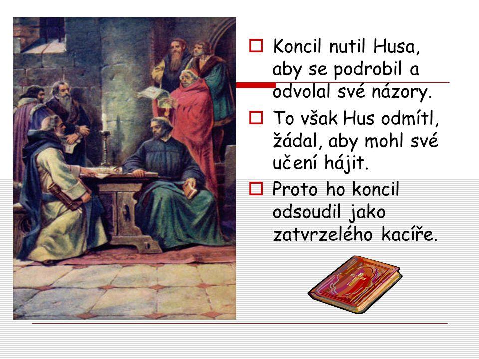6. července 1415 byl Jan Hus upálen a jeho popel vhozen do Rýna.