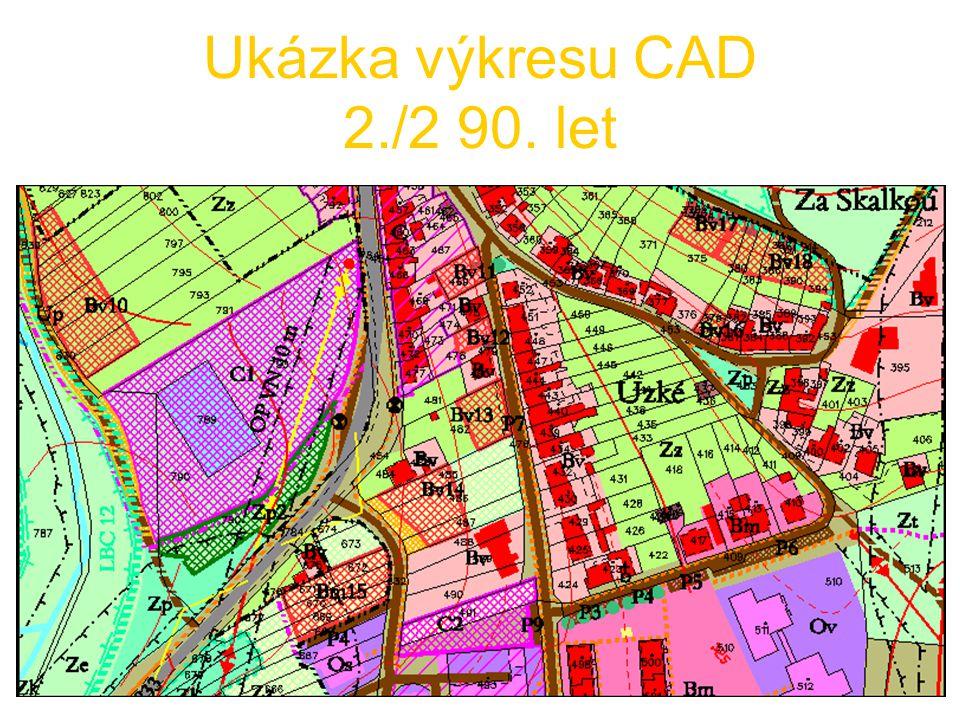 dtto pro GIS podle Metodiky Brno rok 2000