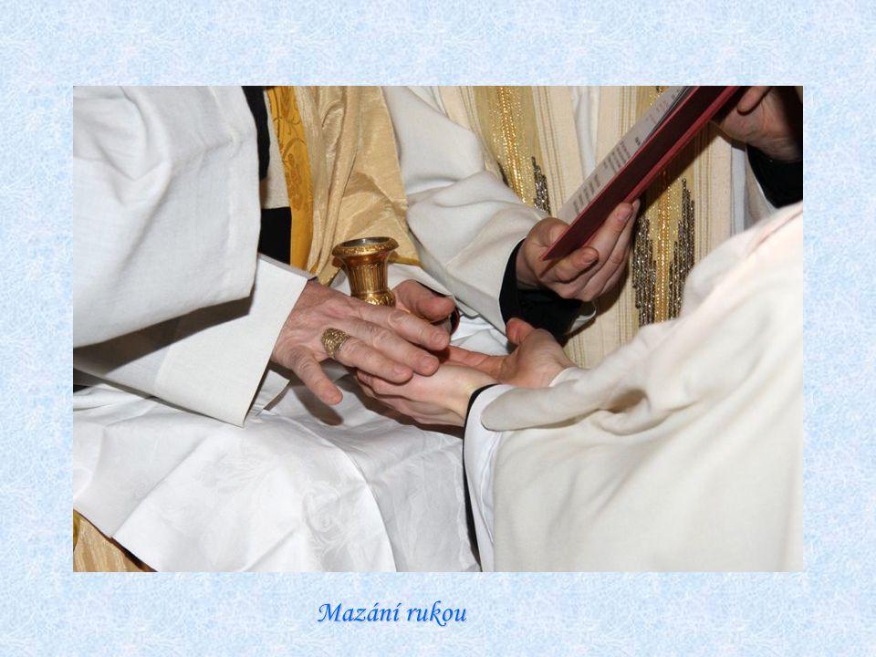 Mazání rukou