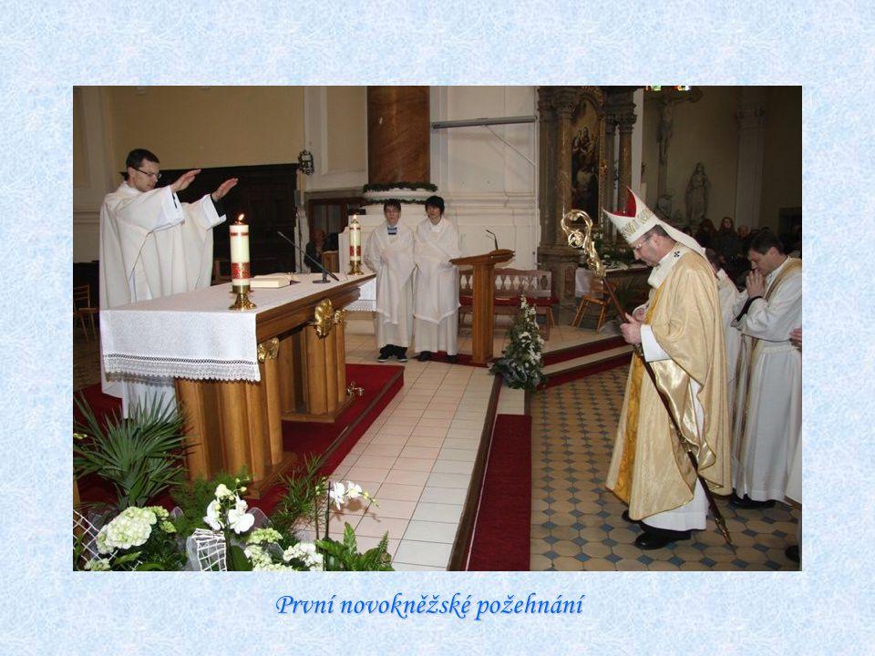 První novokněžské požehnání
