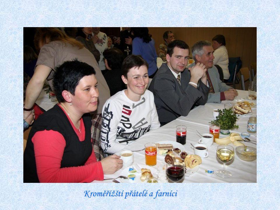Kroměřížští přátelé a farníci