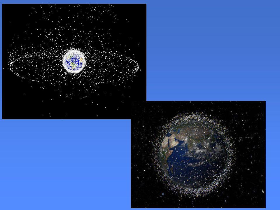 Riziko Svým množstvím a hustotou jsou hrozbou pro nově vypouštěné družice a lodě s kosmonauty.