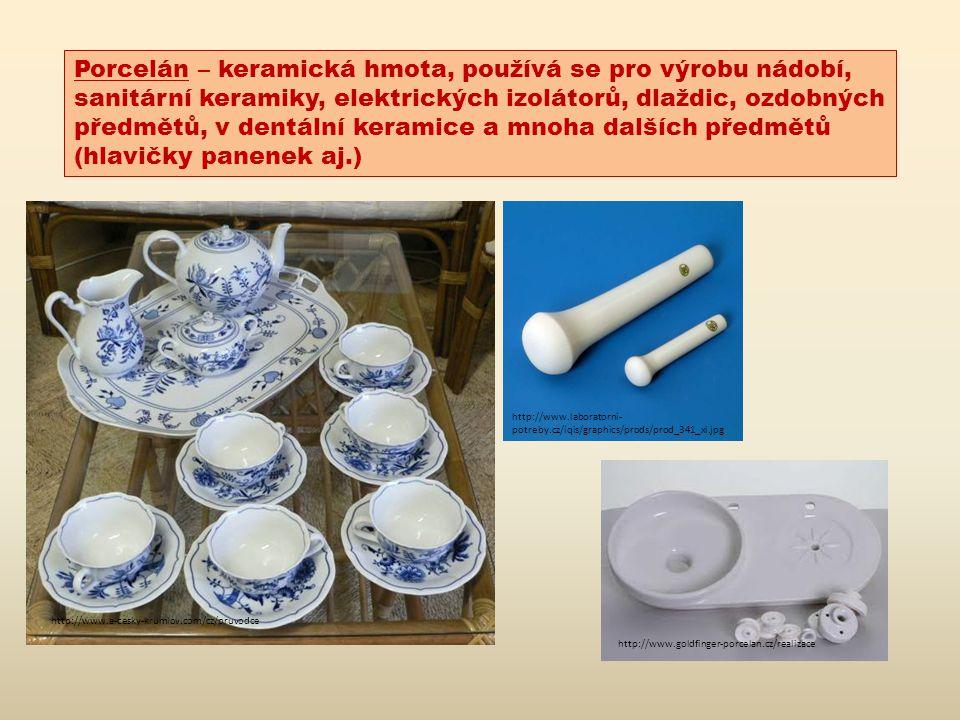 Použitá literatura, zdroj: http://cs.wikipedia.org/wiki/Keramika Bauer A.