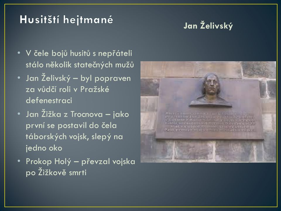 Jan Žižka Prokop Holý
