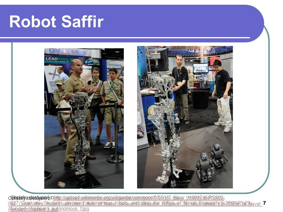8 Robot Dustcart robotický popelář Itálie (Paccioli) VŠ projekt, 2009 služby, mobilní zásobník odpadu telefonická rezervace, internet, navigace, čas display, id, druh odpadu Obrázek dostupný z http://upload.wikimedia.org/wikipedia/commons/e/ee/Dustbot_Demo_Pontedera_001_crop-headshot.jpghttp://upload.wikimedia.org/wikipedia/commons/e/ee/Dustbot_Demo_Pontedera_001_crop-headshot.jpg