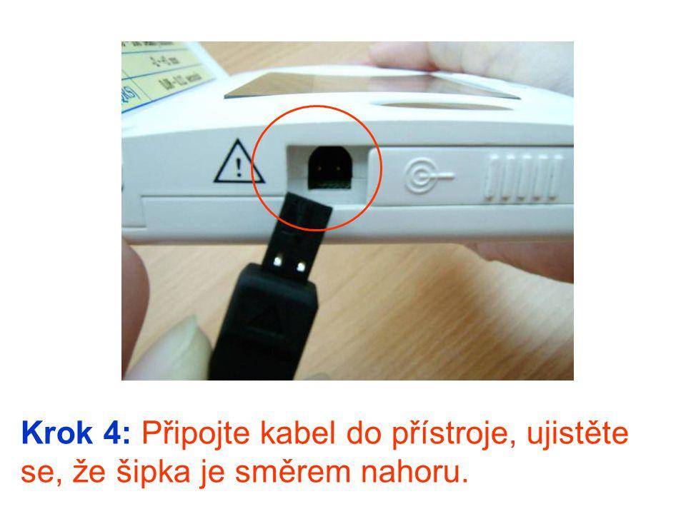 Krok 5: Pohodlně se posaďte a položte přístroj na svůj klín.