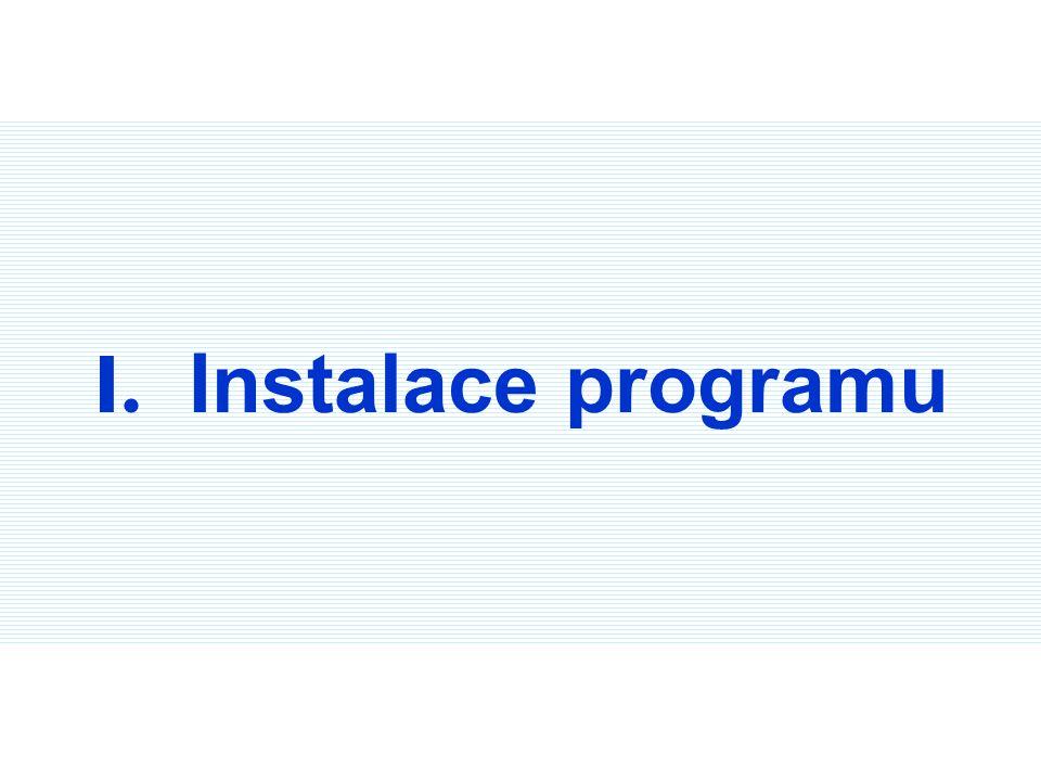 Krok 1, 2 : Vložte instalační CD do CD-ROM mechaniky vašeho počítače. Krok 1 Krok 2