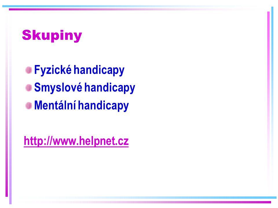 Problém číslo 1 v ČR (Ne)schopnost majoritní skupiny přijímat osoby s postižením (Ne)schopnost komunikovat s těmito osobami (Ne)znalost (povědomí) o konkrétním dopadu postižení (Ne)znalost a (ne)schopnost poskytování služby/pomoci