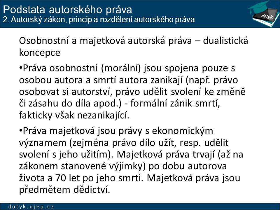 Majetková práva 2.