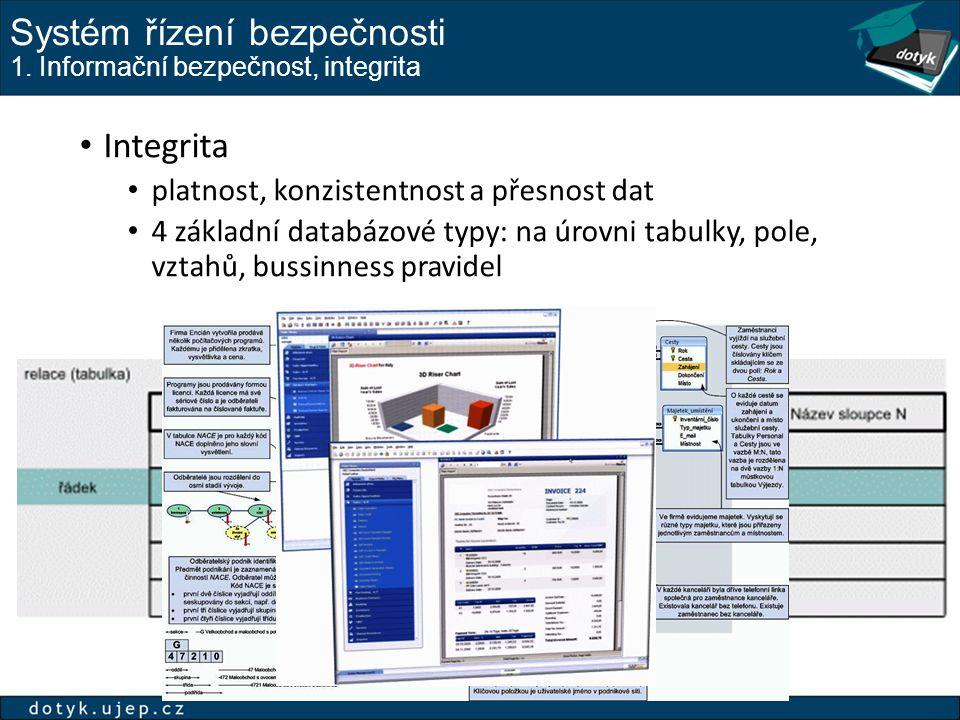 Systém řízení bezpečnosti 1.
