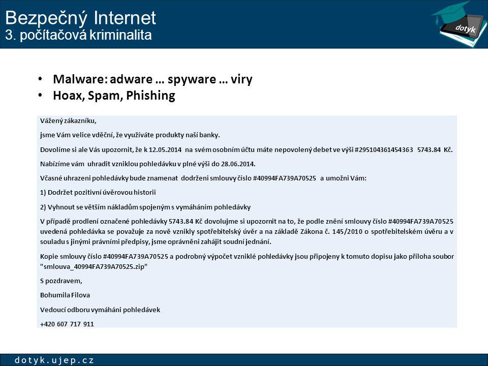 Bezpečný Internet 3.