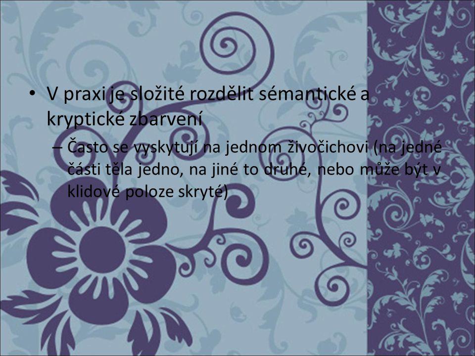 Literatura KOMÁREK, Stanislav.Mimikry, Apostematismus a příbuzné jevy.