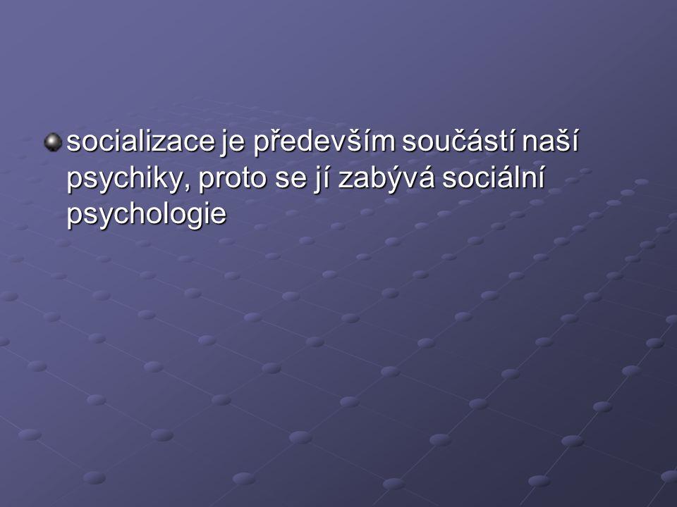 negativní projevy socializace a)konformní jednání – jednání, které vůbec nevybočuje z daných společ.