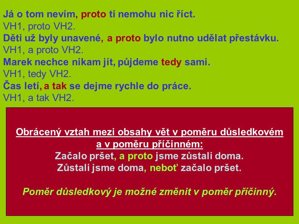 Složité souvětí  obsahuje věty hlavní a vedlejší  skládá se nejméně ze tří vět složité souvětí podřadné souřadné