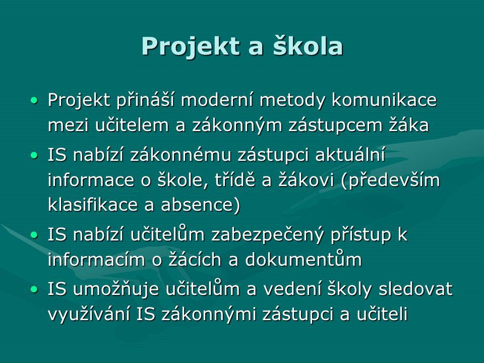 Webové stránky projektu URL adresa informačního systému www.outech-havirov.cz/issURL adresa informačního systému www.outech-havirov.cz/iss