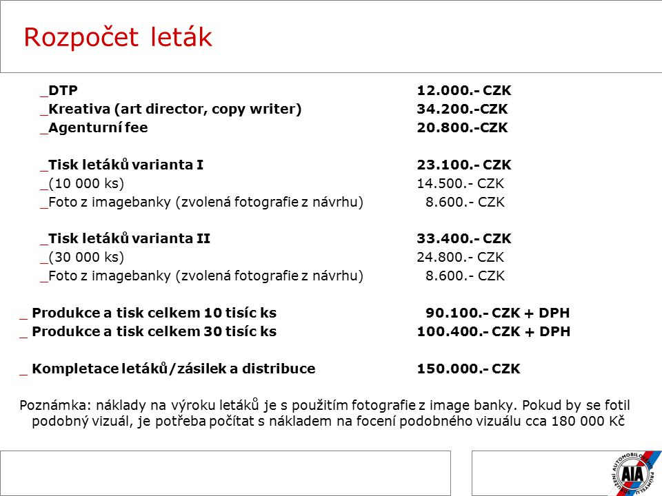 Harmonogram leták _Odeslání návrhu letáku klientovi30.10.