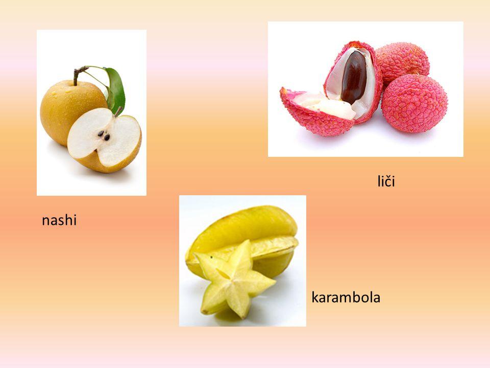 Hra na badatele: Myslím si nějaké ovoce.Žáci hádají otázkami, o které ovoce by mohlo jít.
