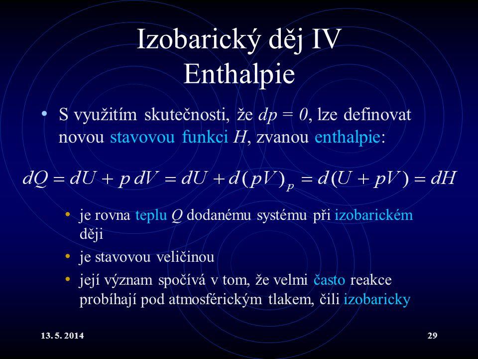 13.5. 201430 Poissonova konstanta I Důležitým parametrem plynu je tzv.