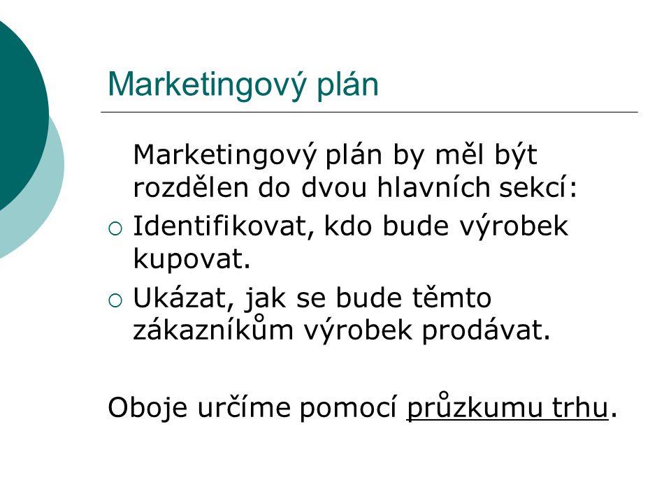 Průzkum trhu Průzkum trhu jsou všechna zjištění o tom, co lidé chtějí a jak uspokojit jejich potřeby.