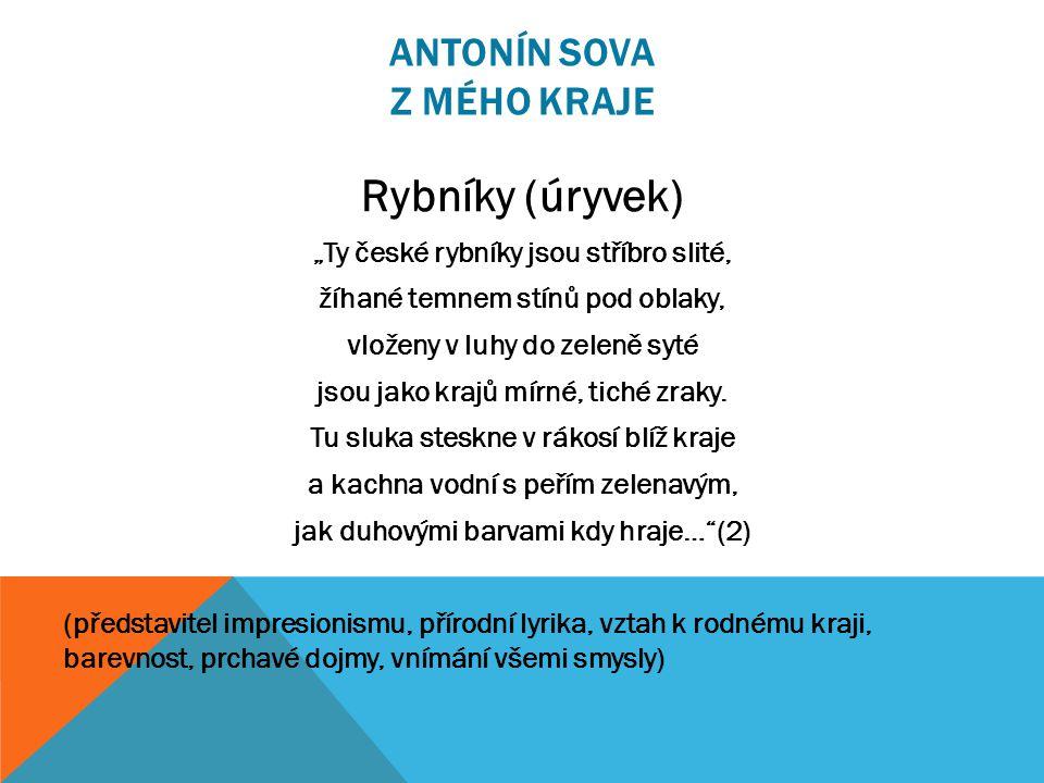 Antonín Sova jako maturant píseckého gymnázia Otokar Březina Obr. 1 Obr. 2