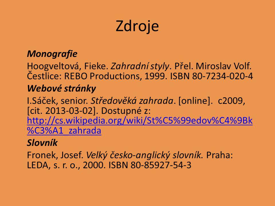 Zdroje obrázků Snímek s.