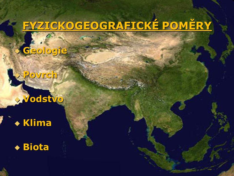Geografie Asie  Nejvyšší hora Mt.