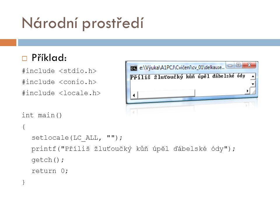 Dynamická alokace paměti  Funkce z knihovny stdlib.h  Základní funkce:  malloc()  calloc()  realloc()  free()