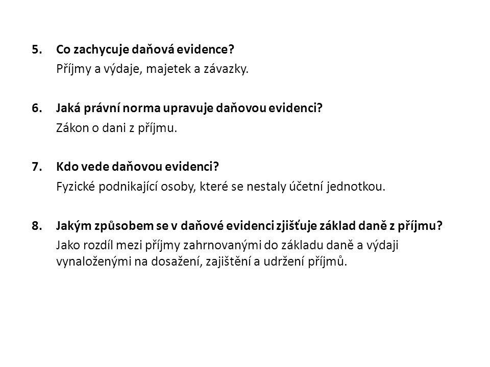 8.Zdroje ŠTOHL, Pavel. Učebnice účetnictví 2013 pro střední školy a veřejnost.