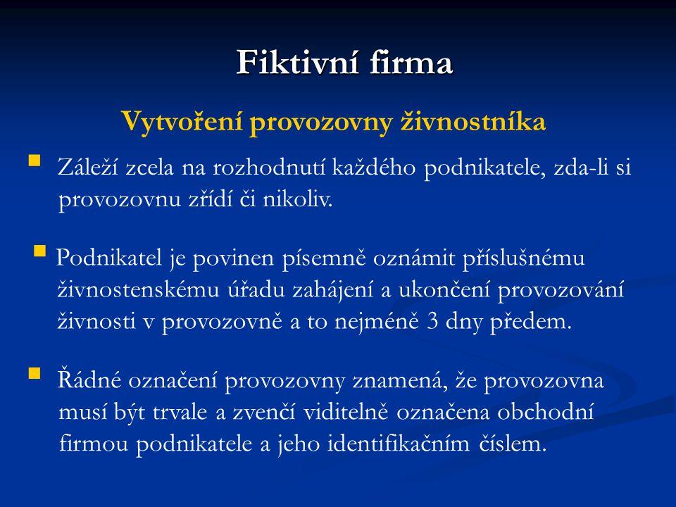 14 POUŽITÉ ZDROJE  Fiktivní firmy v České republice 1992 - 2008.