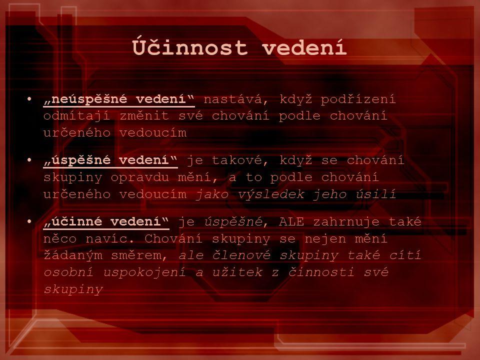 """Literatura http://www.vedeme.cz/index.php?option=com_cont ent&task=view&id=115&Itemid=181http://www.vedeme.cz/index.php?option=com_cont ent&task=view&id=115&Itemid=181 Yvonne Faerber,Christian Stöwe – """"Vedení lidí v praxi , Grada Publishing, a.s., Praha 2007 Jan Průša – """"Moderní metody vedení lidí , Nakladatelství Svoboda, Praha 1985 Paul B."""