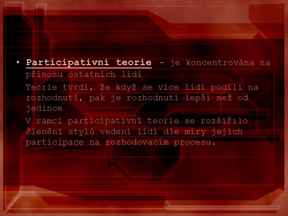 AUTOKRATICKÝ DEMOKRATICKÝ LIBERÁLNÍ ZÁKLADNÍ STYLY VEDENÍ LIDÍ (dle Kurta Lewina)