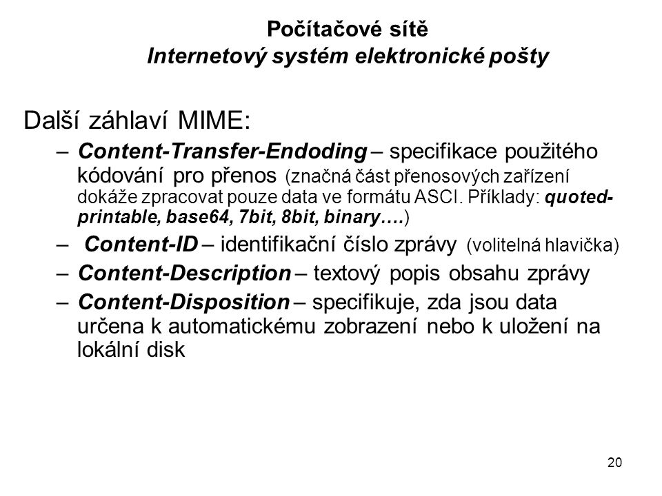 MIME-Version: 1.0 Content-Type: multipart/mixed; boundary= frontier This is a message with multiple parts in MIME format.