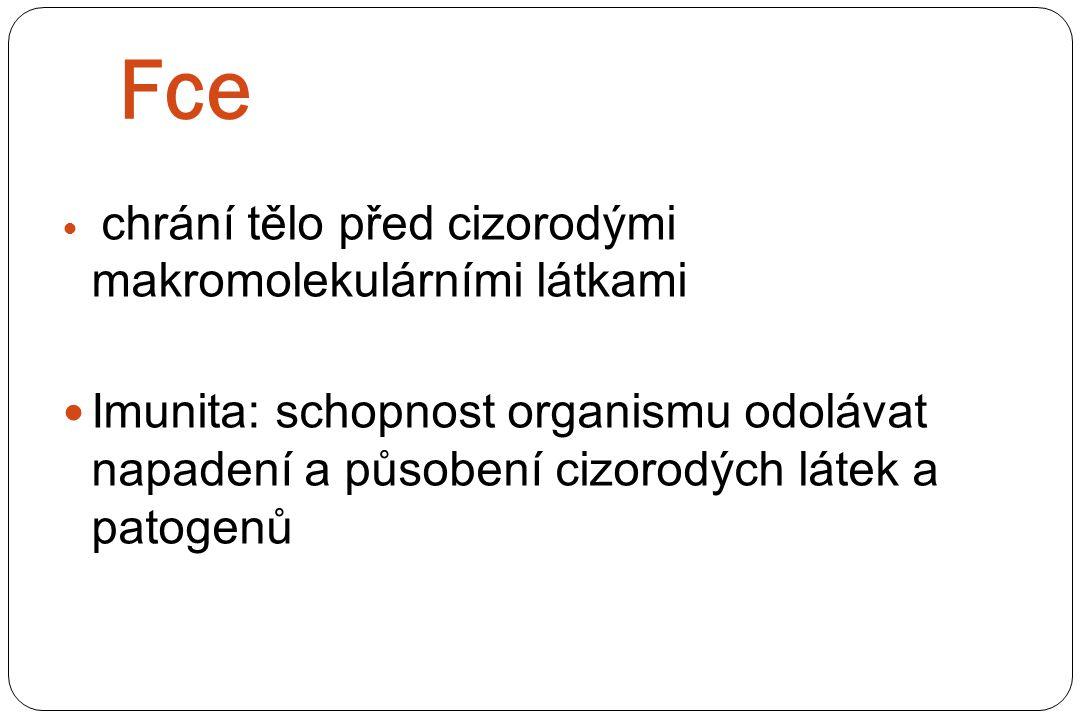 a) Nespecifická imunita b) Specifická imunita