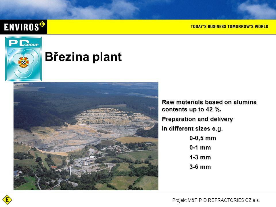 Projekt M&T P-D REFRACTORIES CZ a.s. P-D Kremen Mining and processing of quartzite in Slovenia