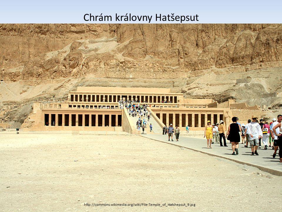 http://commons.wikimedia.org/wiki/File:ISLUXORTEMPLET.JPG?uselang=cs Chrám boha Amona v Luxoru