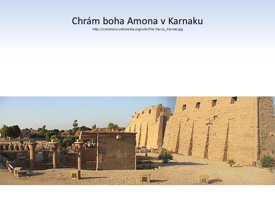 Ramesseum - západní břeh Luxoru - zádušní chrám (Ramesse II.) http://commons.wikimedia.org/wiki/File:Ramesseum_plan_by_Ja mes_E._Quibell.jpg?uselang=cs