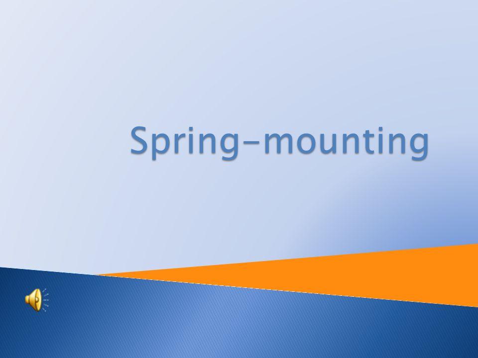 Spring-mounting