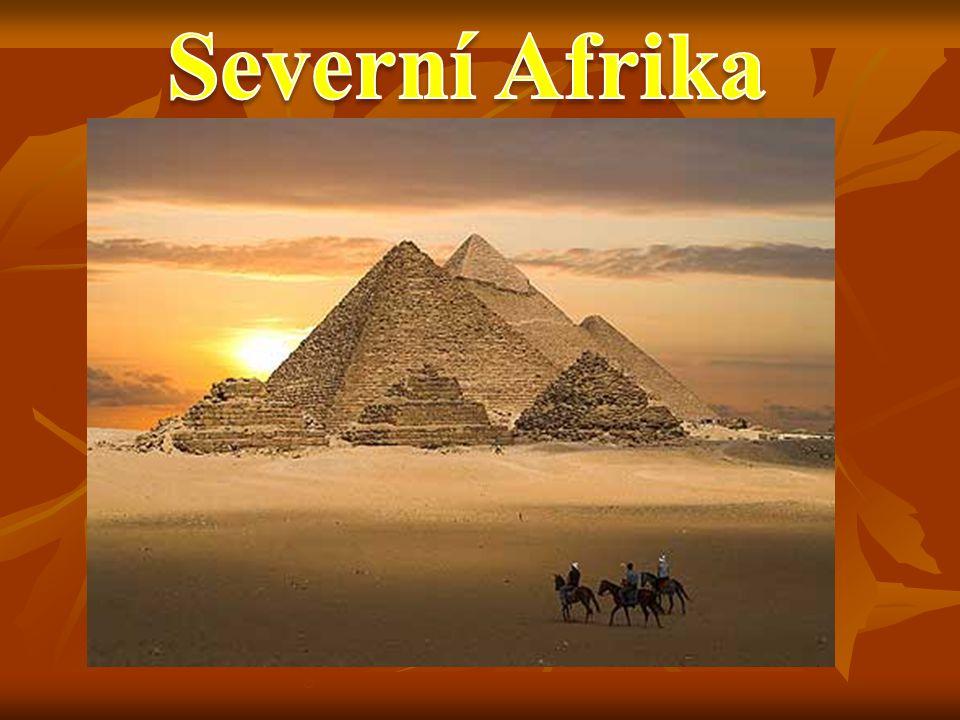 Egypt Alžírsko Tunisko Libye Maroko Mauretánie Súdán Západní Sahara Vyhledej v atlase státy a hl.