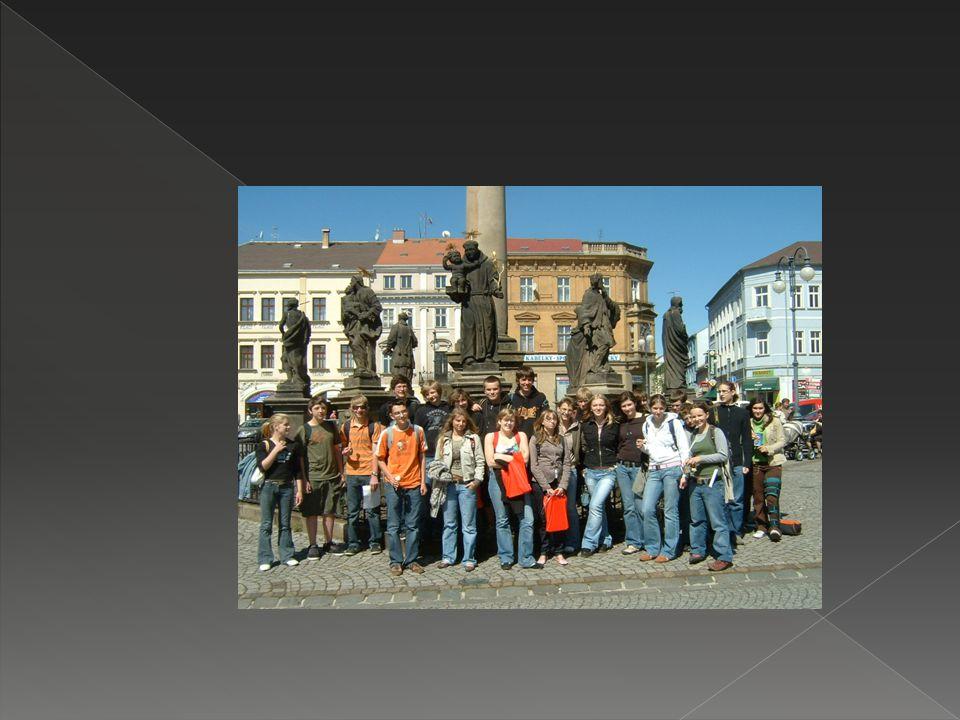 Praha  Prošli jsme společně několik nejvýznamnějších památek  Nechyběl ani výklad (v němčině samozřejmě)